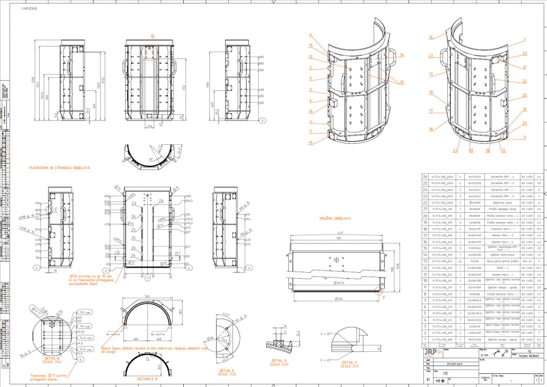Engineering documentation example